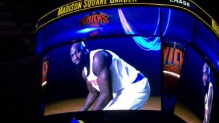 New York Knicks 2014-2015 Intro (vs. Brooklyn Nets)
