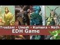 Trostani vs Unesh vs Kumena vs Nath EDH / CMDR game play for Magic: The Gathering