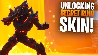 NINJA TROLLS ME WHILE UNLOCKING THE *SECRET* RUIN SKIN!! - Fortnite Battle Royale