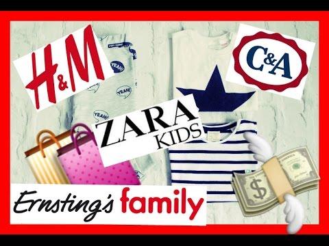 Baby Haul Xxl Zara Hm Ca Ernstings Family Youtube
