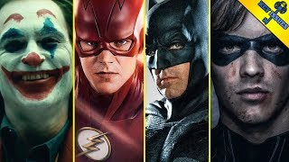 The Live Action DC Multiverse Explained