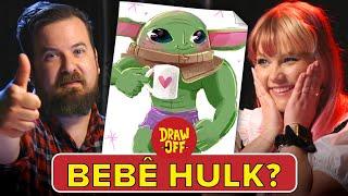 DESAFIO: Animadores e Cartunistas desenham combinações do Baby Yoda com outros personagens