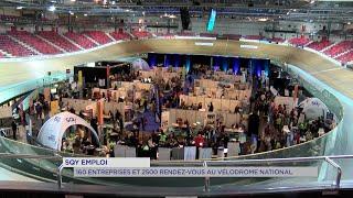 Yvelines | SQY Emploi : 160 entreprises et 2500 rendez-vous au Vélodrome national