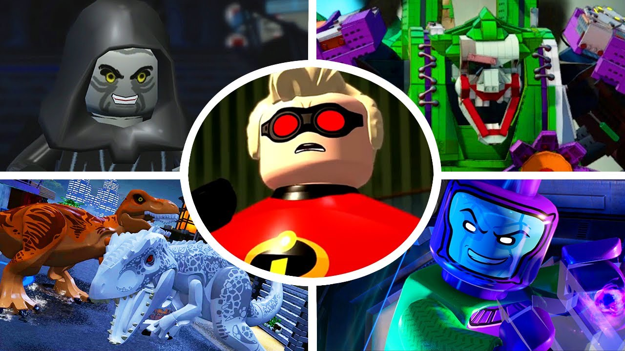 All Final Bosses in LEGO Videogames