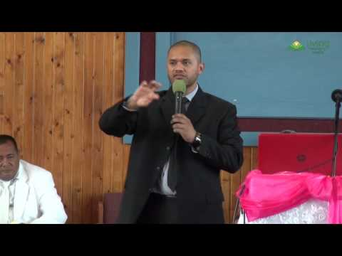 Elder Kili Silafau - American Samoa Sabbath Sermon - Session 11