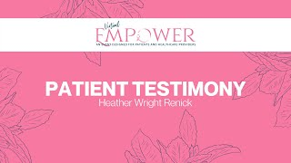 2020 Empower   Patient Testimony