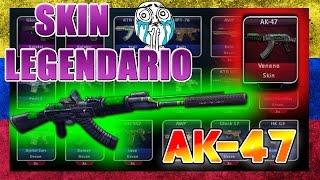 SKIN LEGENDARIO AK-47 VENENO / ZULA LATINO / SKIN MAS BUSCADO