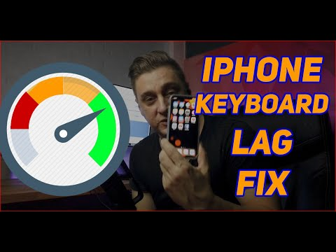 IPhone Keyboard Lag Fix