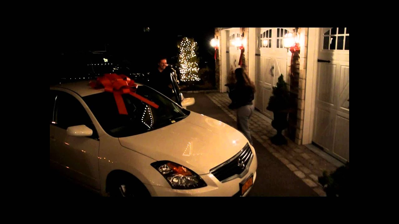Shocked teenagers first car surprise..Priceless!!!! - YouTube