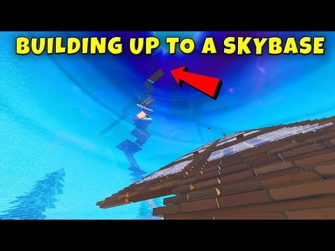 SKYBASE CAMPERS ARE EVERYWHERE IN CLOSE ENCOUNTERS GAMEMODE - Fortnite BR Gameplay