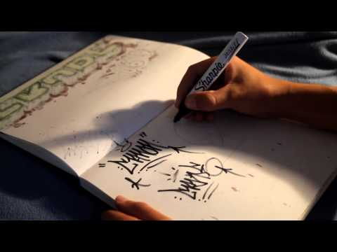 How To Draw Graffiti: Tag