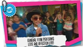 General Fiyah Performs Love and Affection LIVE! | What Now