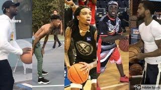 Rappers & Basketball Gucci Mane, Lil Uzi Vert, Kodak Black, Drake