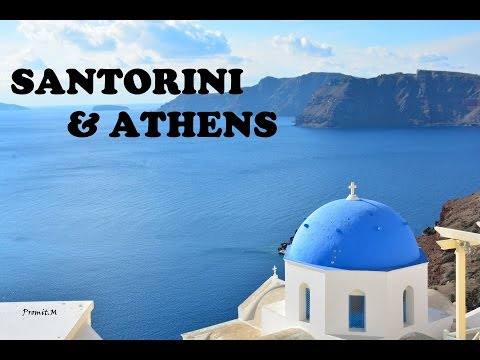 Aryohan In GREECE (Athens & Santorini) - 4K Video