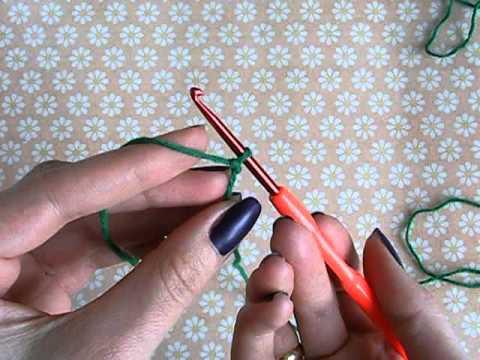 Набрать петли вязания крючком 28