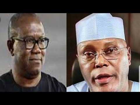 ATIKU PICKS PETER OBI AS RUNNING MATE AND ALL HELL LETS LOOSE SEE
