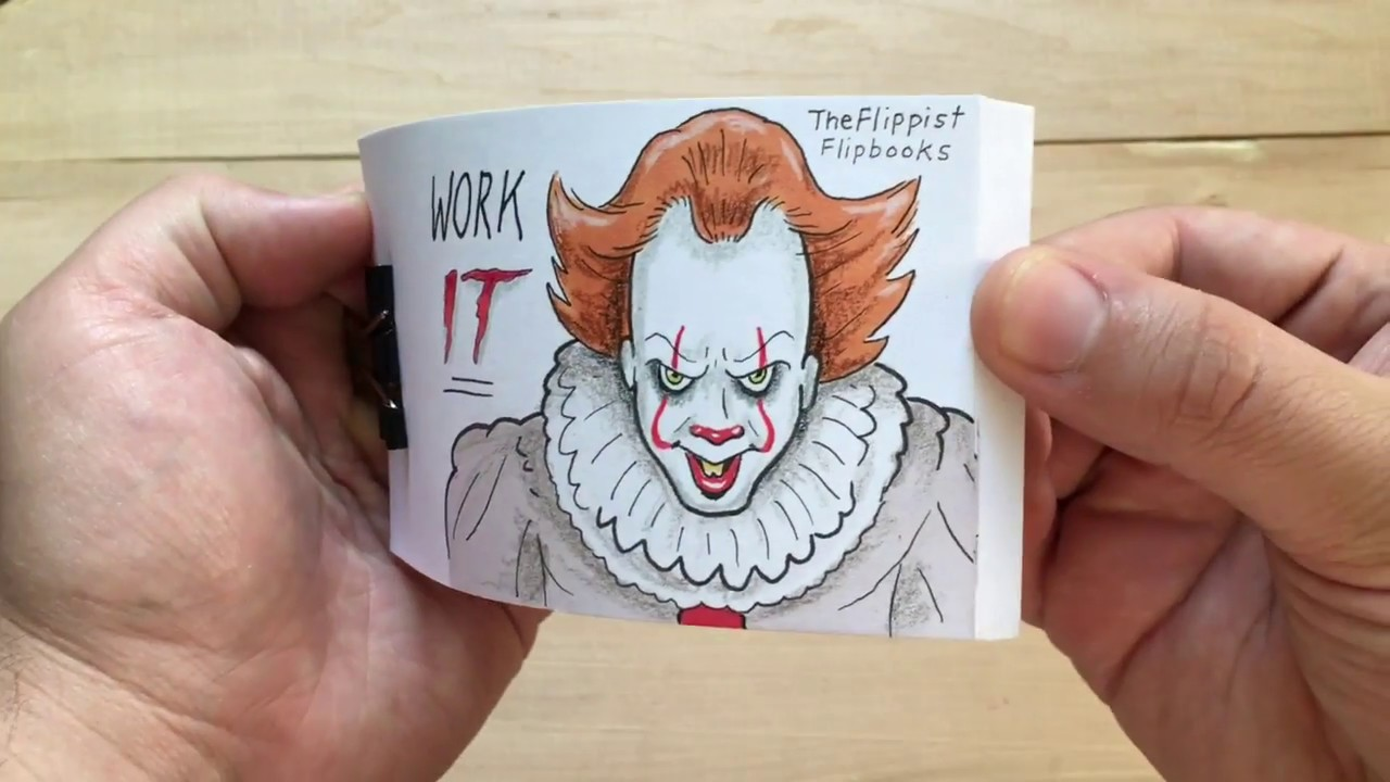 Work It Dancing Pennywise Flipbook Youtube