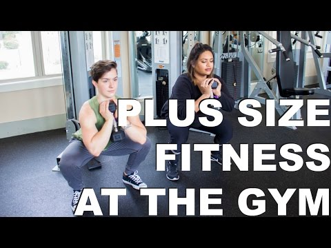 Plus Size Workout Strength Train And Get Confident At The Gym