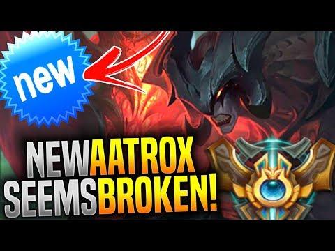 KOREAN MASTER Plays NEW AATROX REWORK And Seems OP! - New Aatrox Gameplay Korea! | Be Challenger