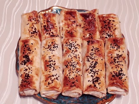 Hazir Lavasdan Cooxx Asan Qelayanalti Resepti Lavasda Toyuqlu Borek Tavuklu Borek By Nilufar S Kitchen