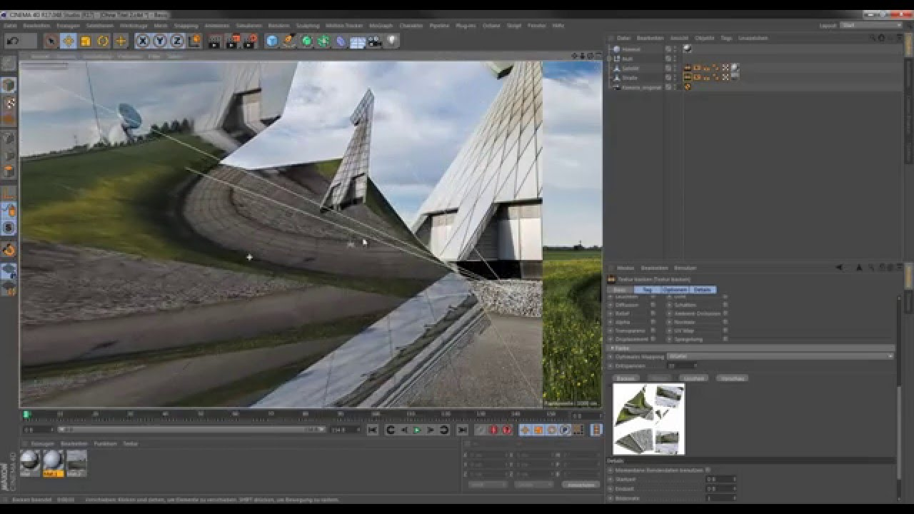 Cinema 4d | camera mapping basics using projection man lesterbanks.