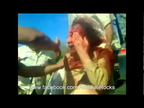 Gaddafi killed after cought