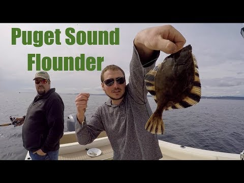 Puget Sound Flounder: Catch & Cook