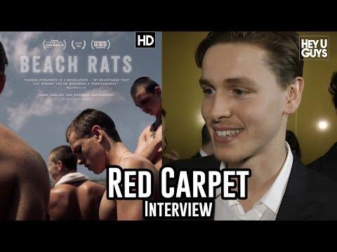Harris Dickinson - Beach Rats - Critics Circle Awards 2018 Red Carpet Interview