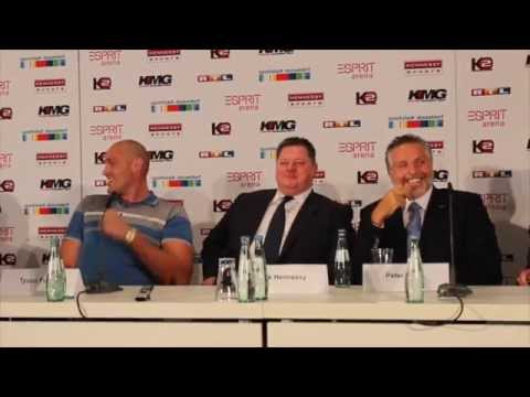 'THIS KLIT IS GETTING LICKED OCTOBER 24th BOOOM!!' TYSON FURY DELIVERS KNOCKOUT LINE TO KLITSCHKO