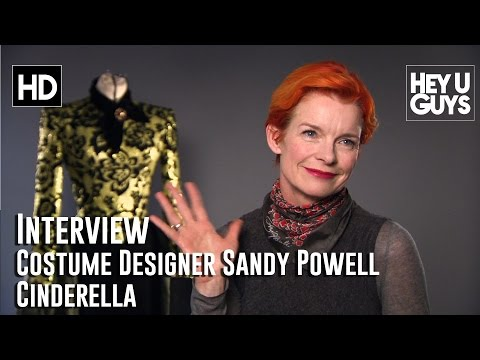 Costume Designer Sandy Powell Interview - Cinderella
