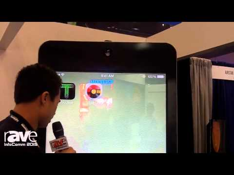 InfoComm 2015: Crunchy Discusses the Padzilla Units That Function as Giant iPhone and iPads
