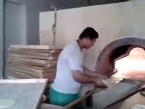 Rubel making khubz very fast (Saudi Arabia)