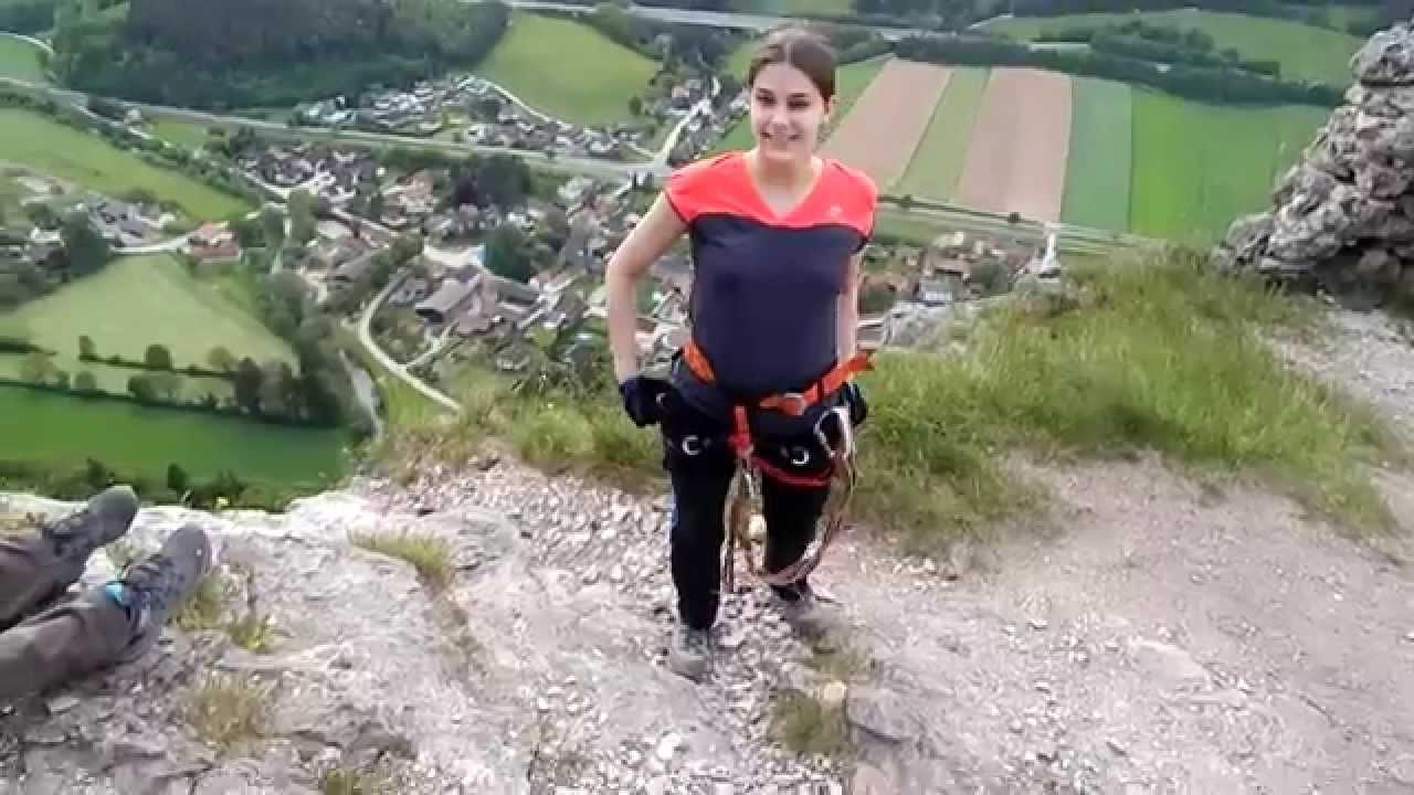 Pittentaler Klettersteig : Pittentaler klettersteig youtube