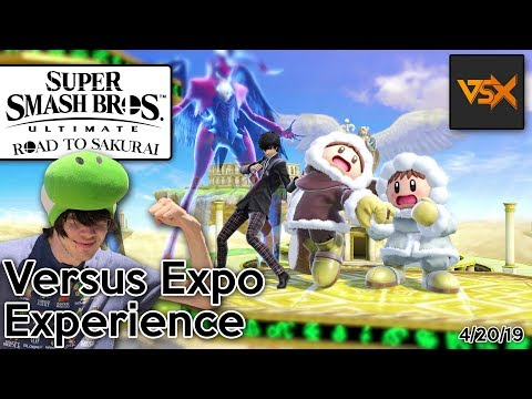 Super Smash Bros. Ultimate - Road To Sakurai - Versus Expo Experience! (4/20/19)