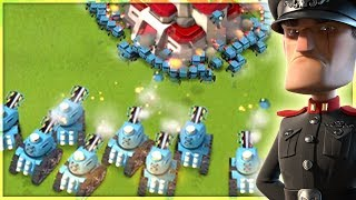 Boom Beach CRITTER CANNONS VS Base Builder! NEW Prototroop!