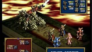 Ogre Battle MOTBQ (PSX) Final Boss Battle