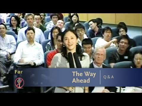 George Soros Lectures: The Way Ahead Q&A