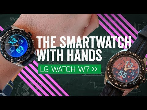 """MrMobile on the LG Watch W7: """"W8"""" for the next one"""