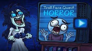Troll Face Quest Horror | ALL Level + Secret Level Gameplay Walkthrough
