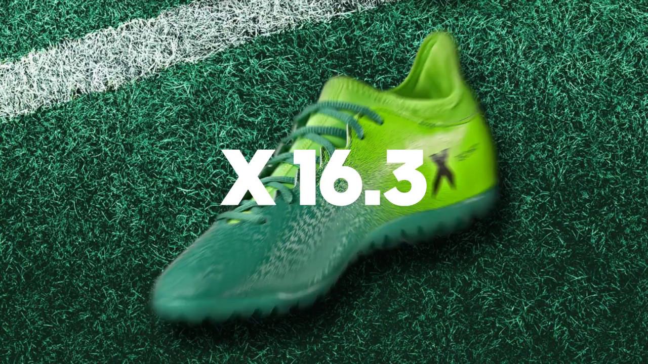 scarpe x 16.3 adidas turf