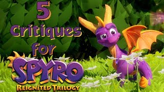 5 Critiques for The Spyro Reignited Trilogy