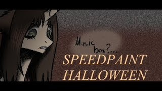 SPEEDPAINT:Halloween-Music...box?