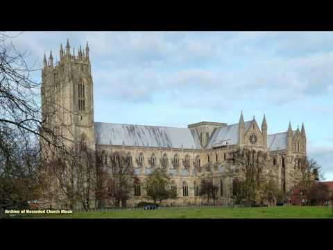 BBC Choral Evensong: Beverley Minster 1983 (Alan Spedding)