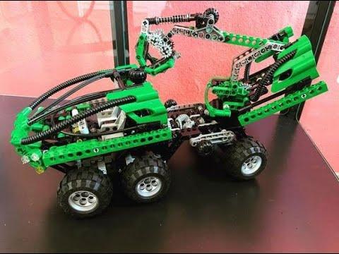 Ein Blick in die Vergangenheit - LEGO Set 8446 - Crane Truck von 1999 - und ein kleiner Gast