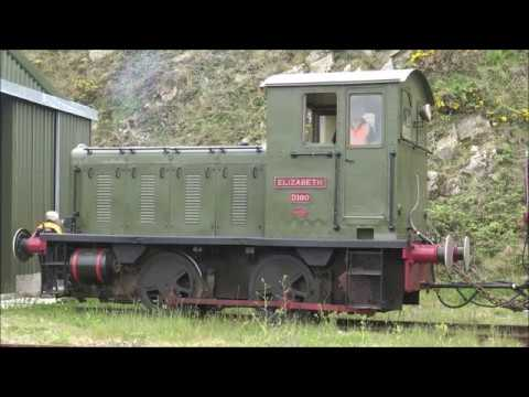 Alderney Railway Trackside   Train Roll out and Disposal