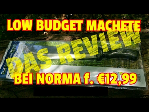 ✔LOW BUDGET MACHETE v. Norma (Full Review) German