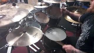 Josh Richardson drum improv to Wayne Wonder