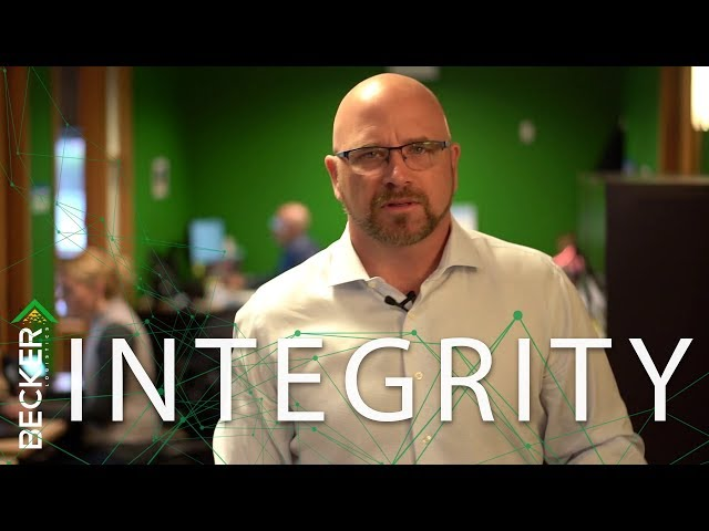 31:One - Integrity