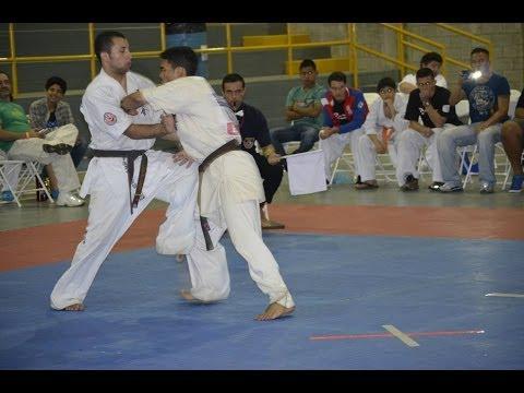4th All Americas Karate Cup | E. Correa Uru vs L. Viera Bra