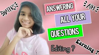 Answering all your questions/Shout out to everyone/Shout-out/Challenge video/Q and A/Editing intro